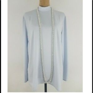 New With Tags!  MM LaFleur Blue Sohee Top - Size 8